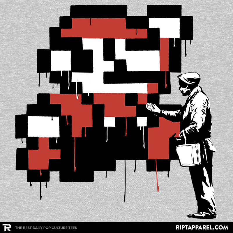 Graffiti Mario - Collection Image - RIPT Apparel