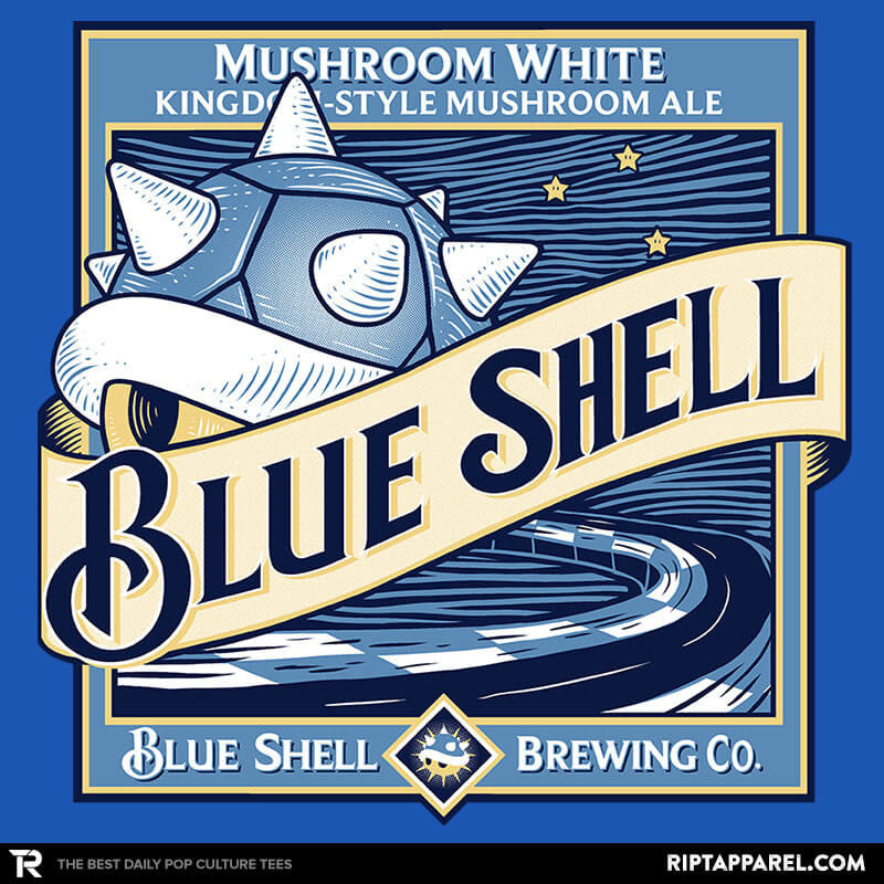 Blue Shell Beer - Collection Image - RIPT Apparel