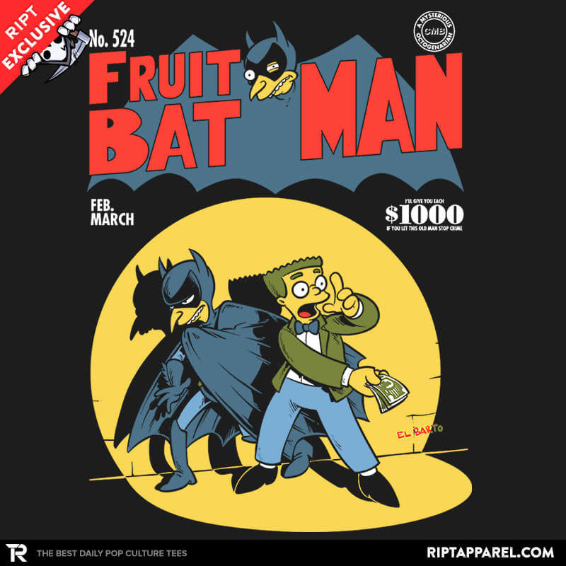 Fruitbat Man - RIPT Apparel