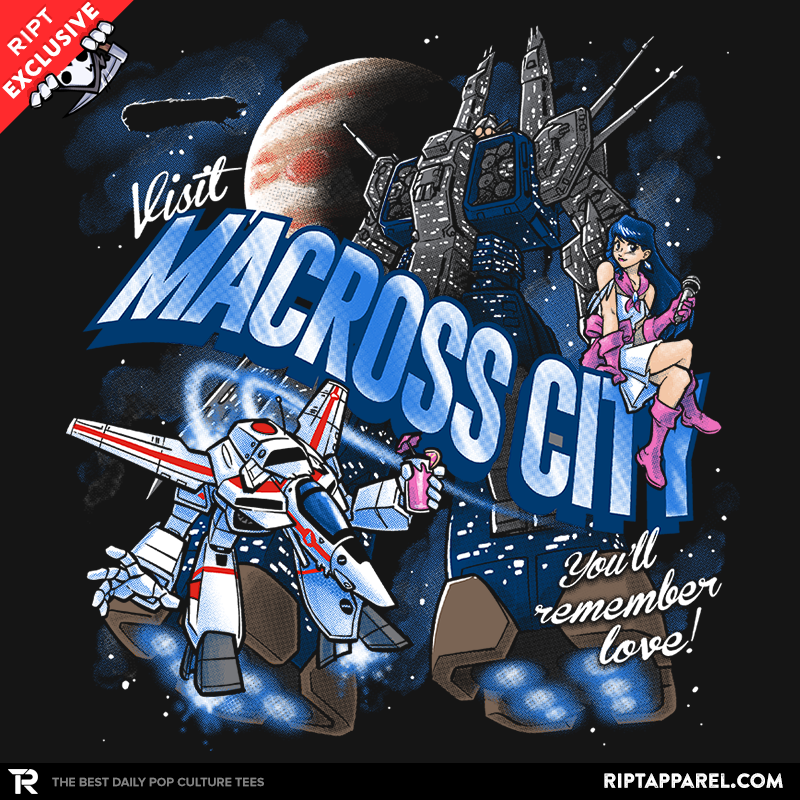 Visit Macross City - Collection Image - RIPT Apparel