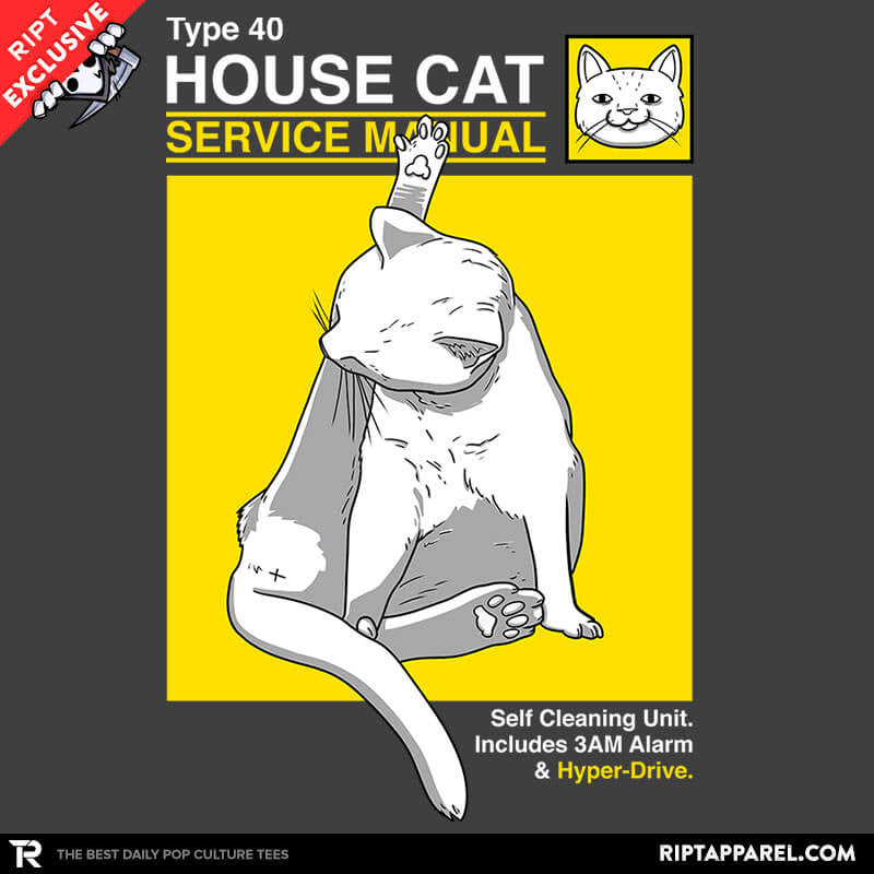 House Cat Service Manual - Collection Image - RIPT Apparel
