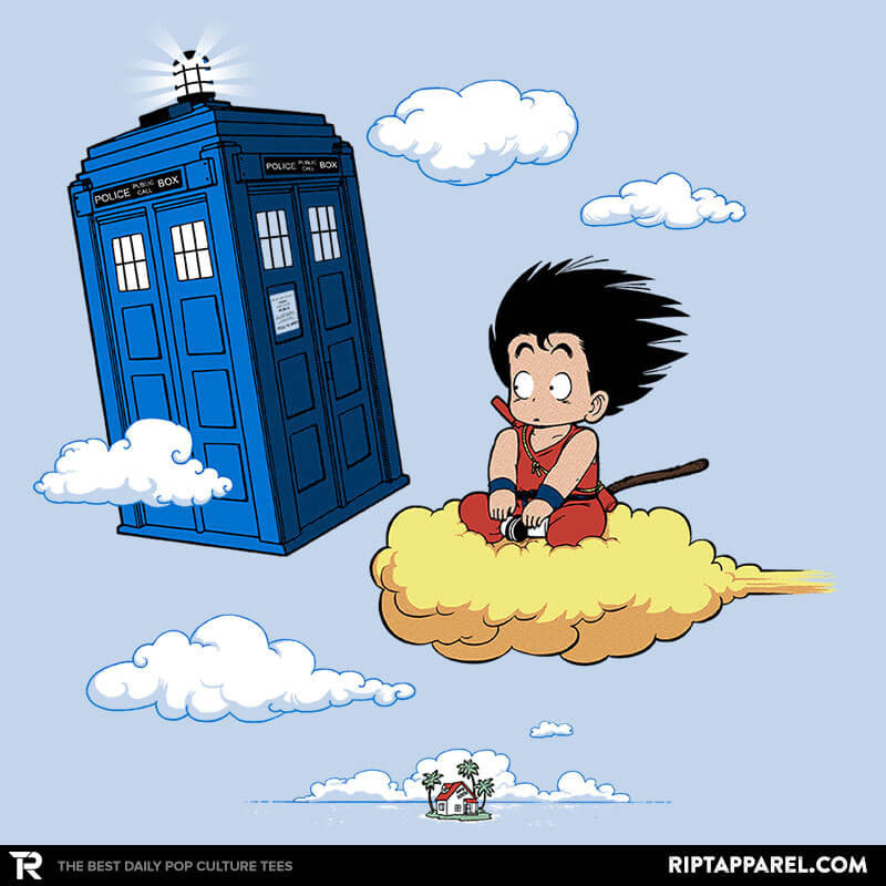 The Cloud and the Phone Box - RIPT Apparel