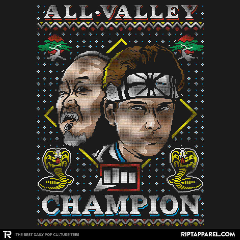 All Valley Champion COD Holiday Sweater - RIPT Apparel