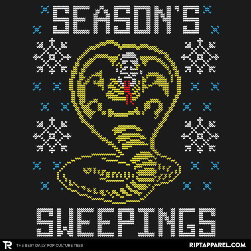 Seasons Sweepings COD Holiday Sweater - RIPT Apparel