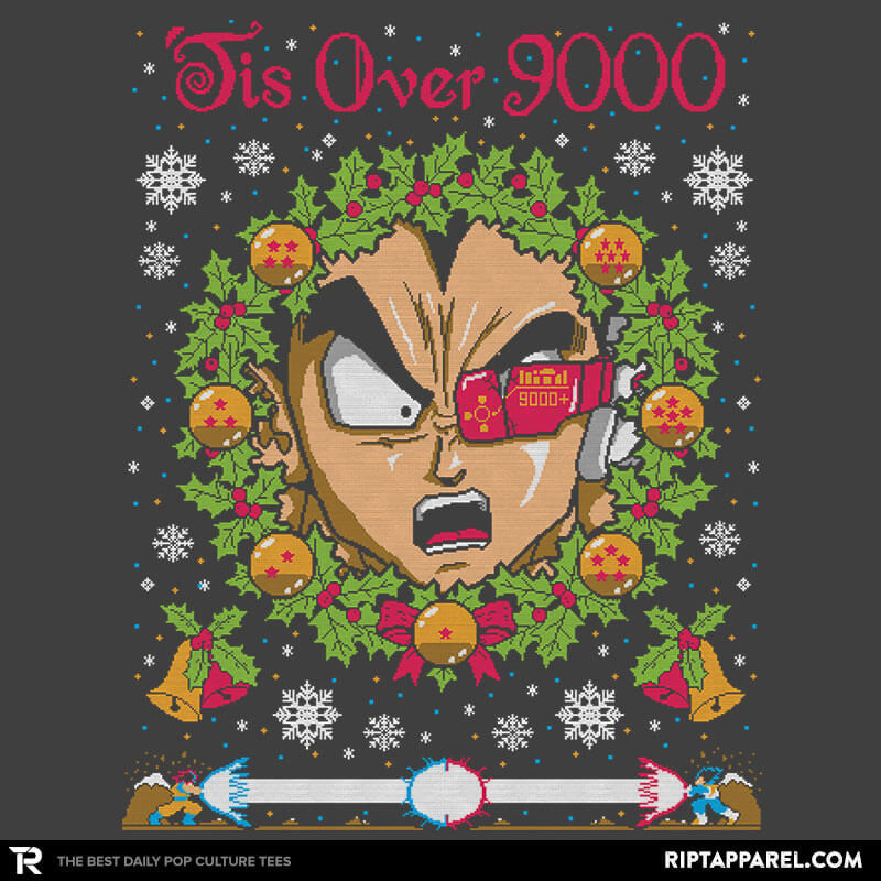 Tis Over 9000 COD Holiday Sweater - RIPT Apparel