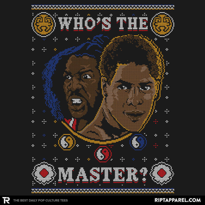 Whose The Master COD Holiday Sweater - RIPT Apparel