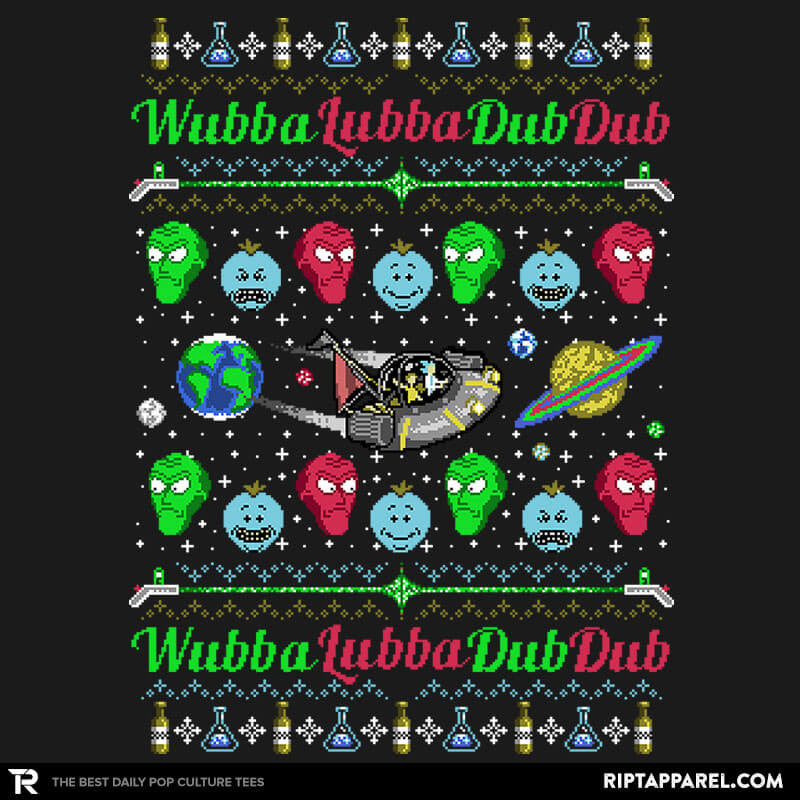 Wubba Lubba COD Holiday Sweater - Collection Image - RIPT Apparel
