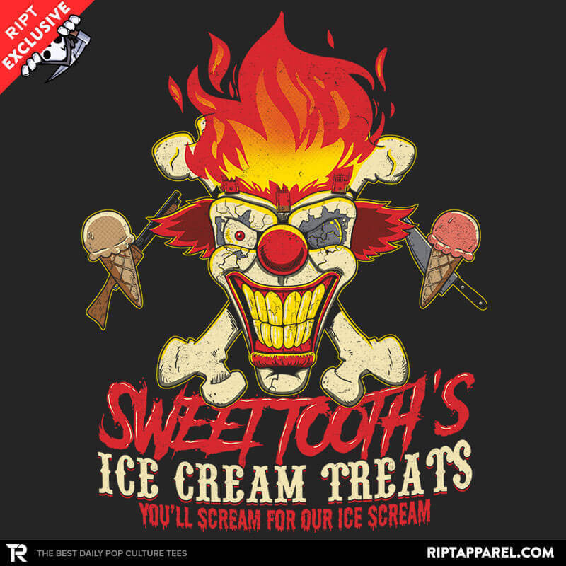 Sweet Tooth's Ice Cream Treats Exclusive - Collection Image - RIPT Apparel