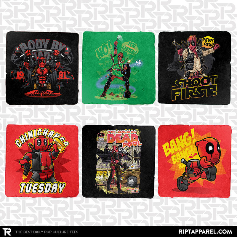 Crazy Wade Exclusive 6-Coaster Set - RIPT Apparel