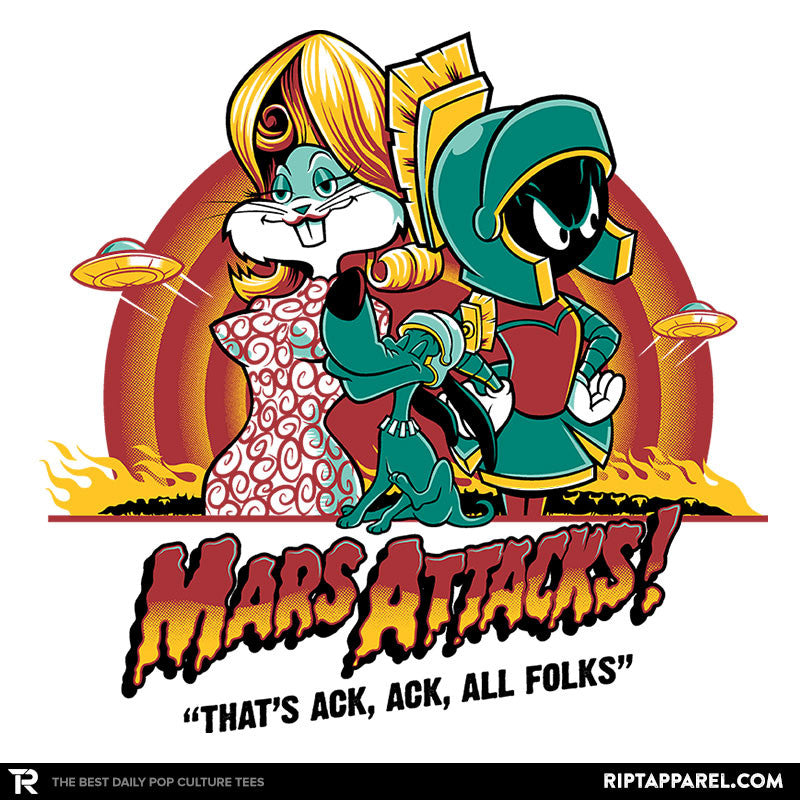 Mars Attacks! - RIPT Apparel