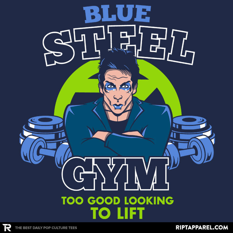 Blue Steel Gym - RIPT Apparel