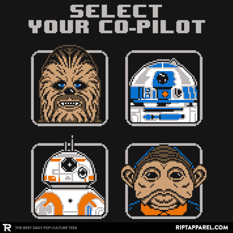 Select Your Co-Pilot - RIPT Apparel
