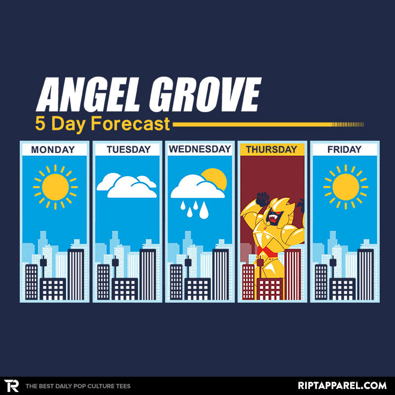 Angel Grove Forecast - Collection Image - RIPT Apparel