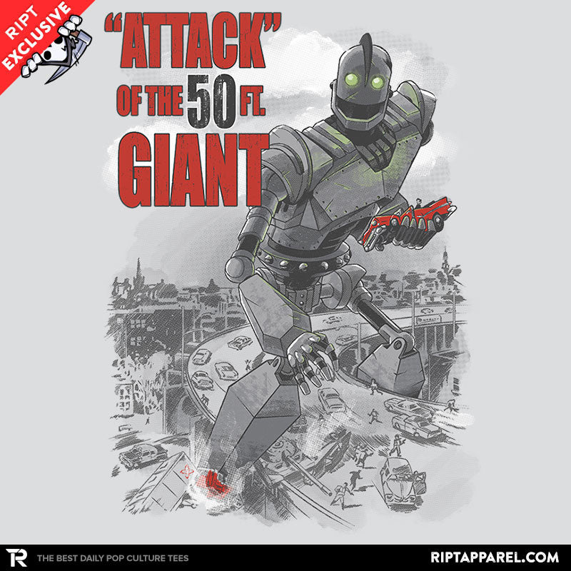 Attack of the 50 ft giant exclusive mens t shirts for Attack of the 50 foot woman t shirt