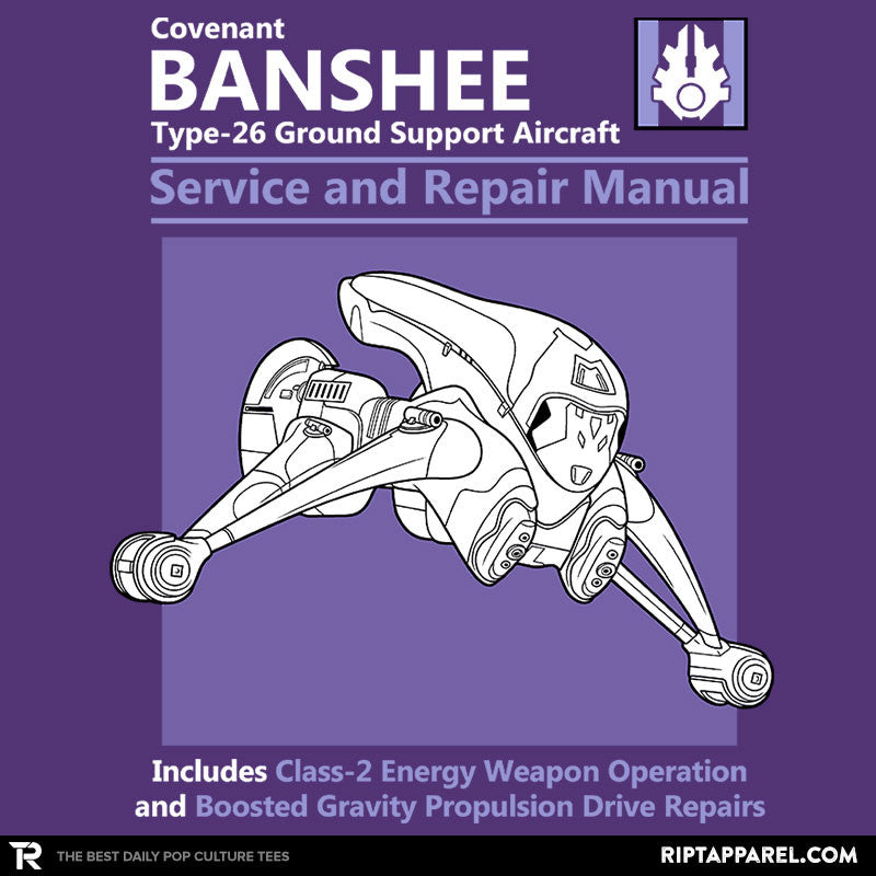 Banshee Service and Repair Manual - RIPT Apparel