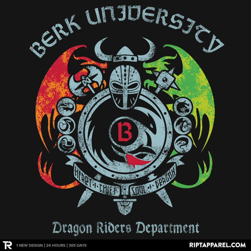 Berk University - RIPT Apparel