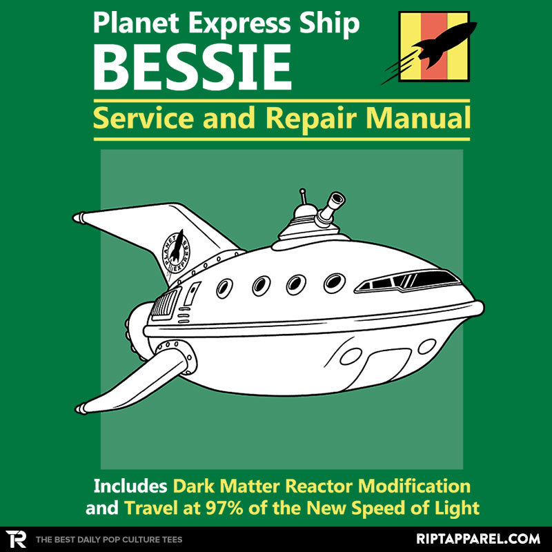 Bessie Service and Repair Manual - RIPT Apparel