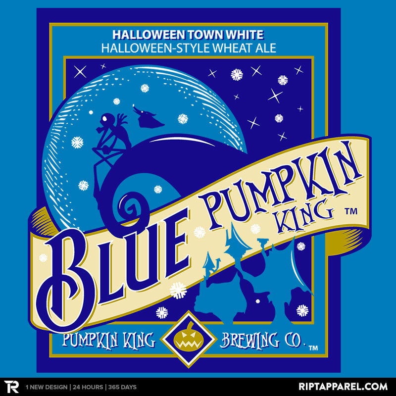 Blue Pumpkin King - RIPT Apparel