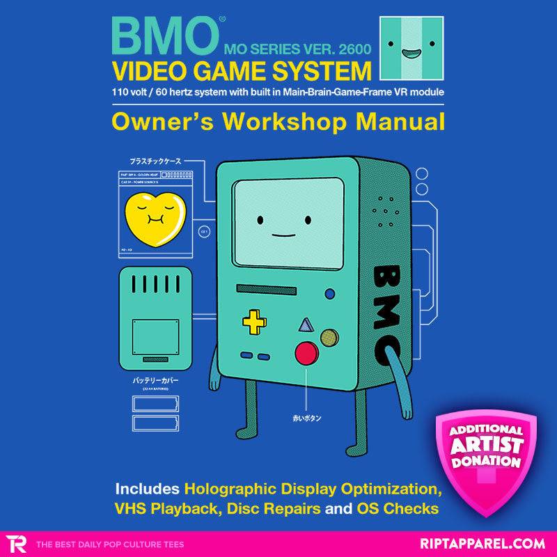BMO User Manual - Collection Image - RIPT Apparel
