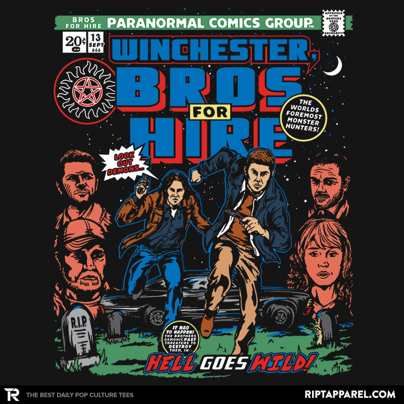 Bros For Hire - Collection Image - RIPT Apparel