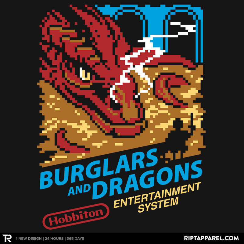 Burglars and Dragons - RIPT Apparel