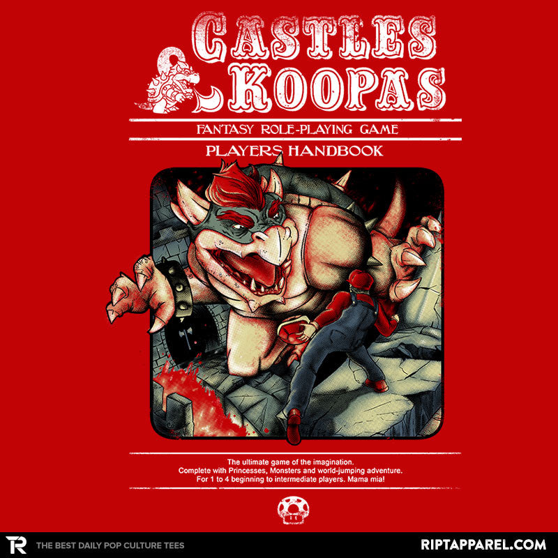 Castles & Koopas - Collection Image - RIPT Apparel
