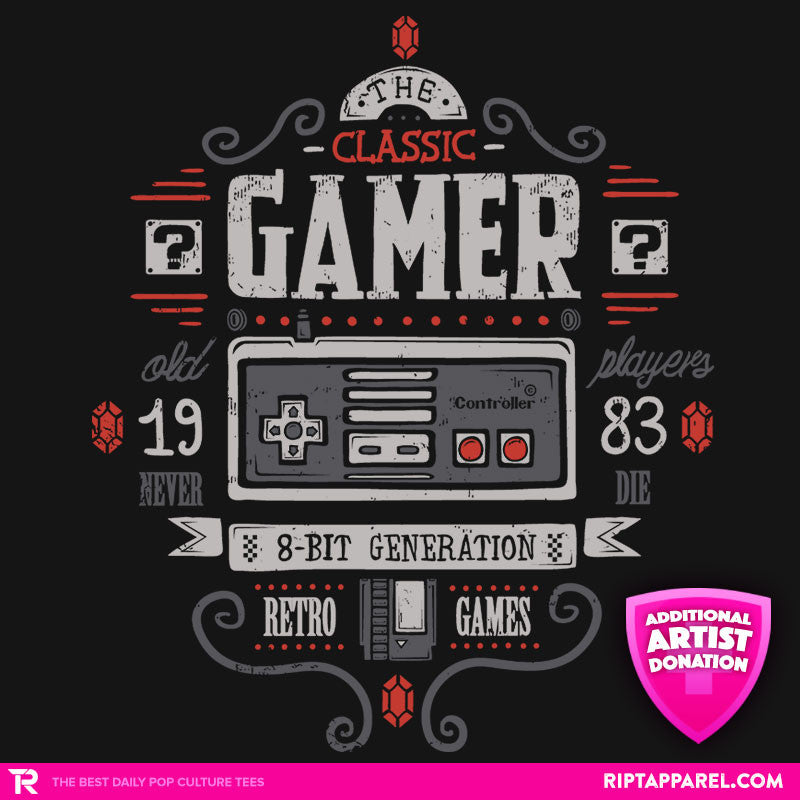 Classic Gamer - Collection Image - RIPT Apparel
