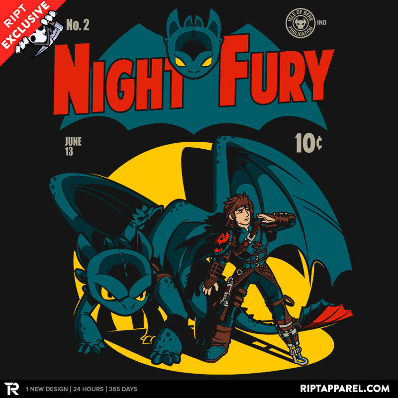 Dark Knight Fury - RIPT Apparel