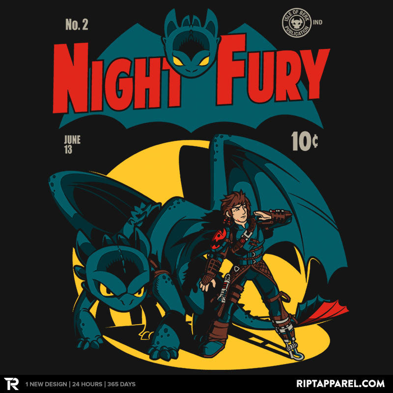 Dark Knight Fury Exclusive - Collection Image - RIPT Apparel