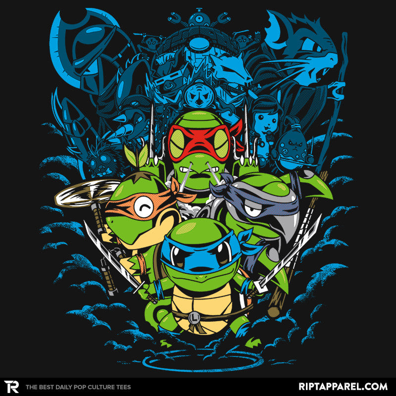 Poke Turtles - Collection Image - RIPT Apparel
