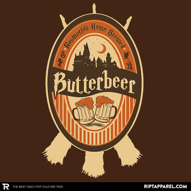 Rosemertas Home Brewed Butterbeer Reprint - Collection Image - RIPT Apparel