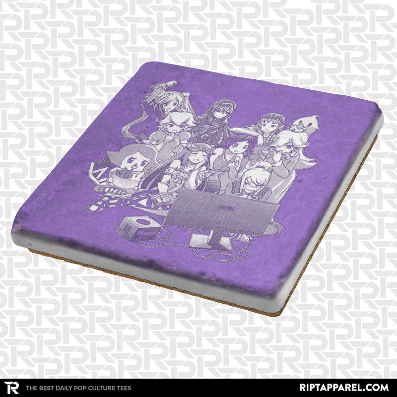 Girls Smash Night Coaster - RIPT Apparel