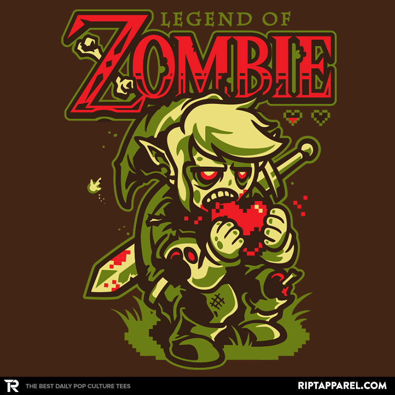 Legend of Zombie Reprint - RIPT Apparel