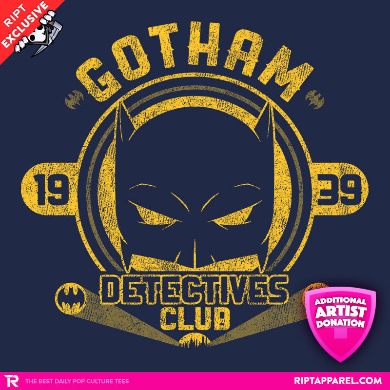 Detectives Club - RIPT Apparel