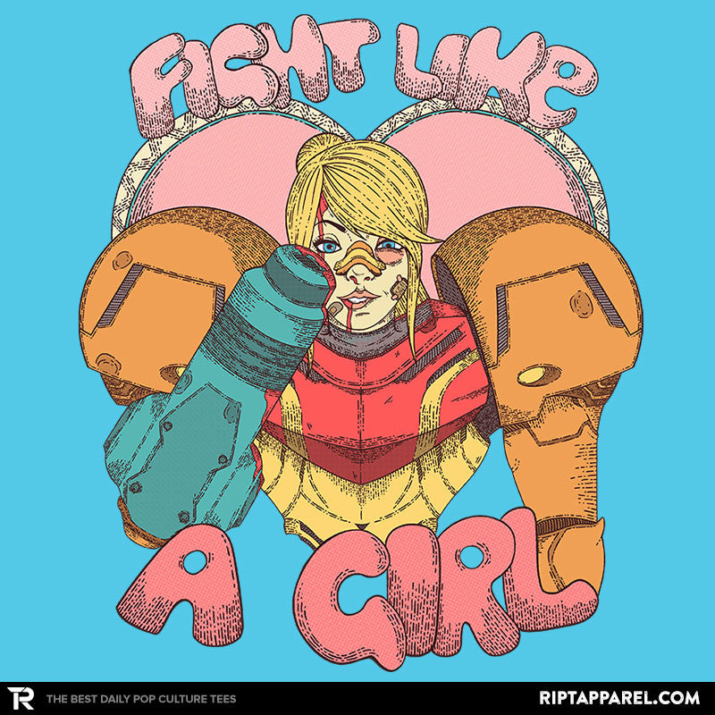 Fight Like A Bounty Girl - RIPT Apparel