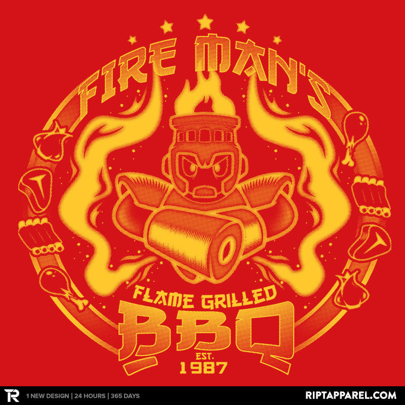 Fire Man's BBQ - RIPT Apparel