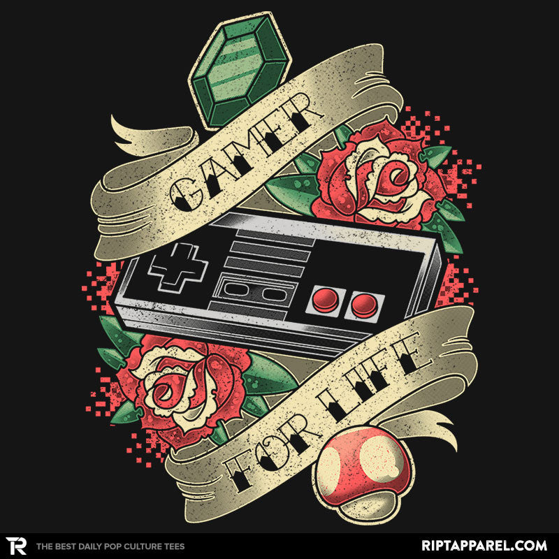Gamer for Life - Collection Image - RIPT Apparel