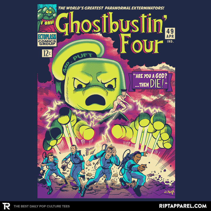 Ghostbustin Four #49 - Collection Image - RIPT Apparel