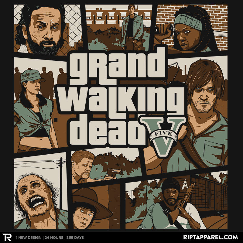 Grand Walking Dead - Collection Image - RIPT Apparel