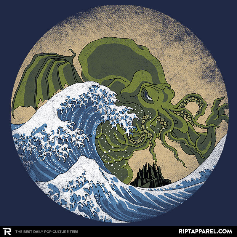 Hokusai Cthulhu - Collection Image - RIPT Apparel