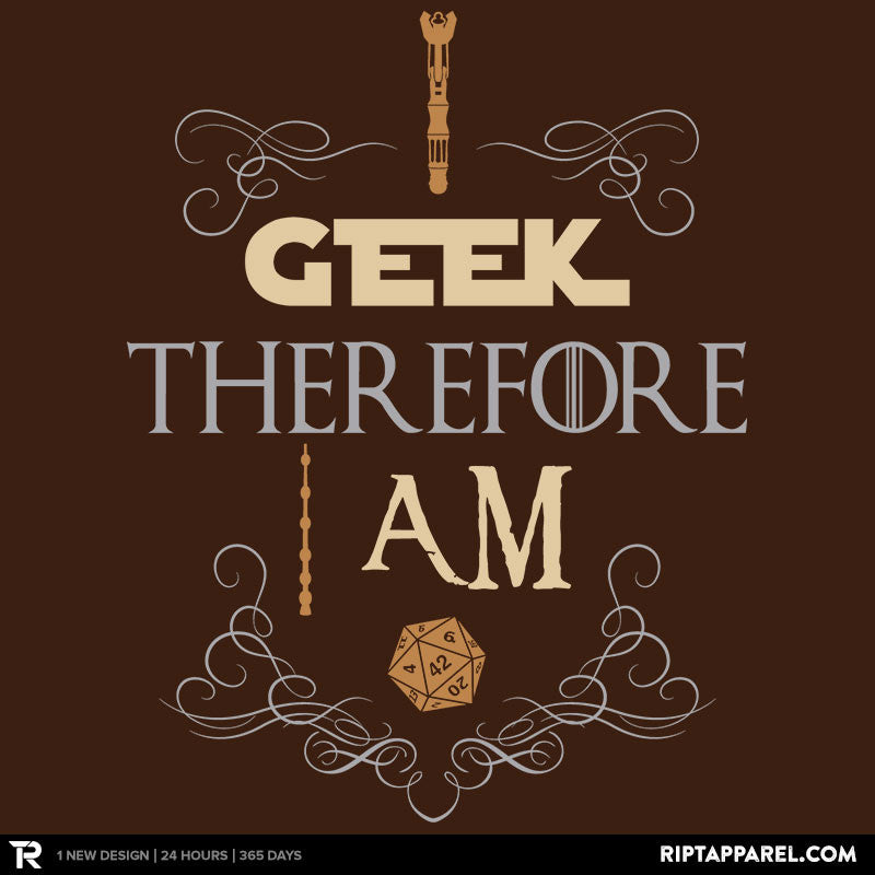 I Geek - RIPT Apparel