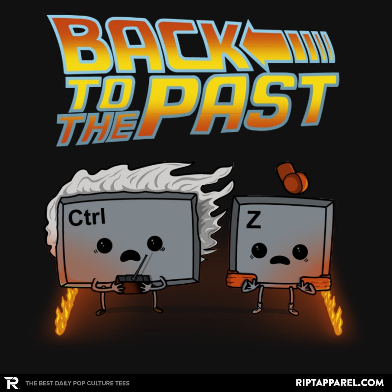 Back To The Past - Raffitees - RIPT Apparel