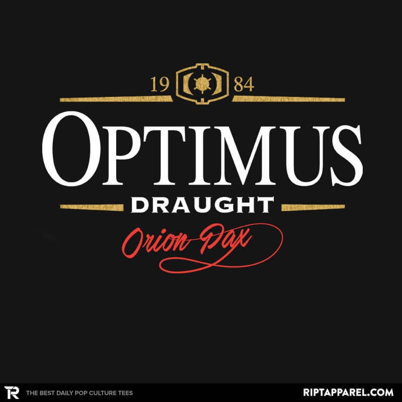 Optimus Draught Exclusive - Collection Image - RIPT Apparel