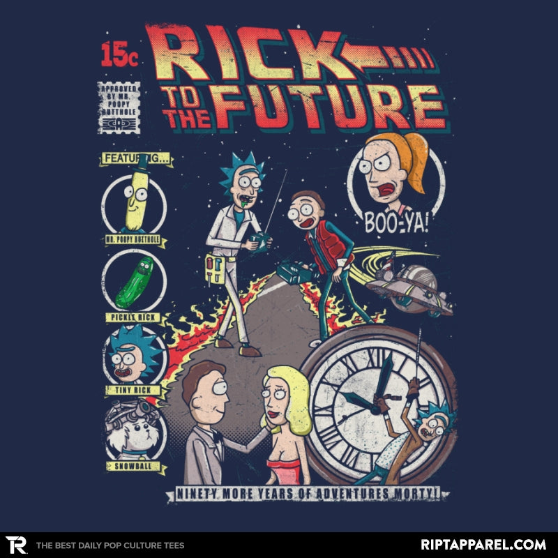 Rick to the Future - Collection Image - RIPT Apparel