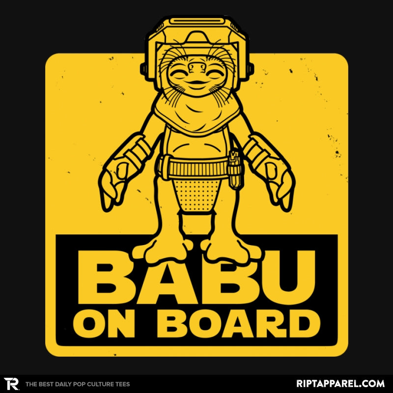 Babu on Board - Collection Image - RIPT Apparel