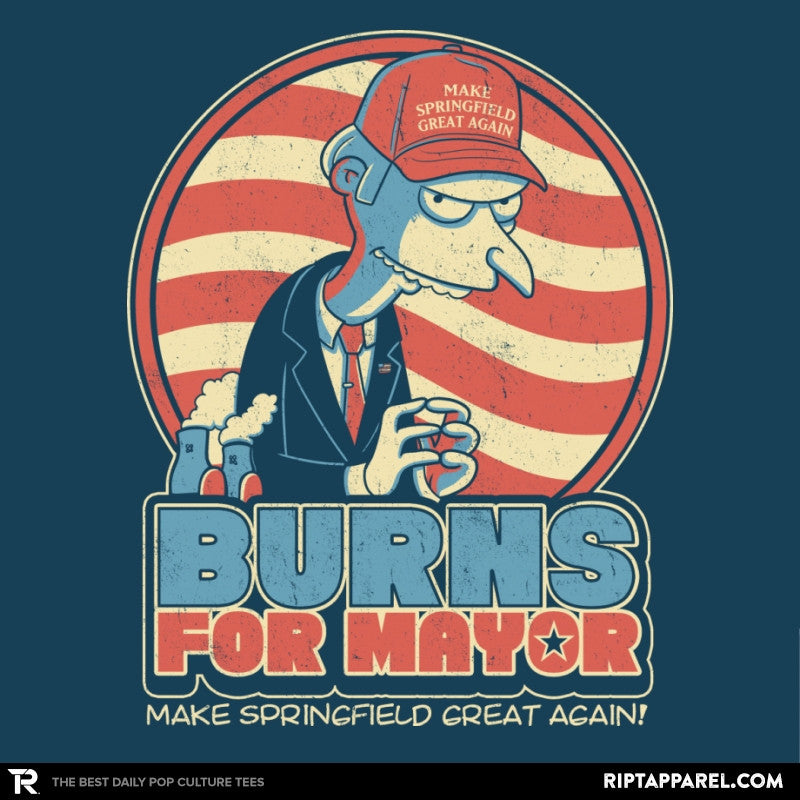 Burns for Mayor Exclusive - Collection Image - RIPT Apparel