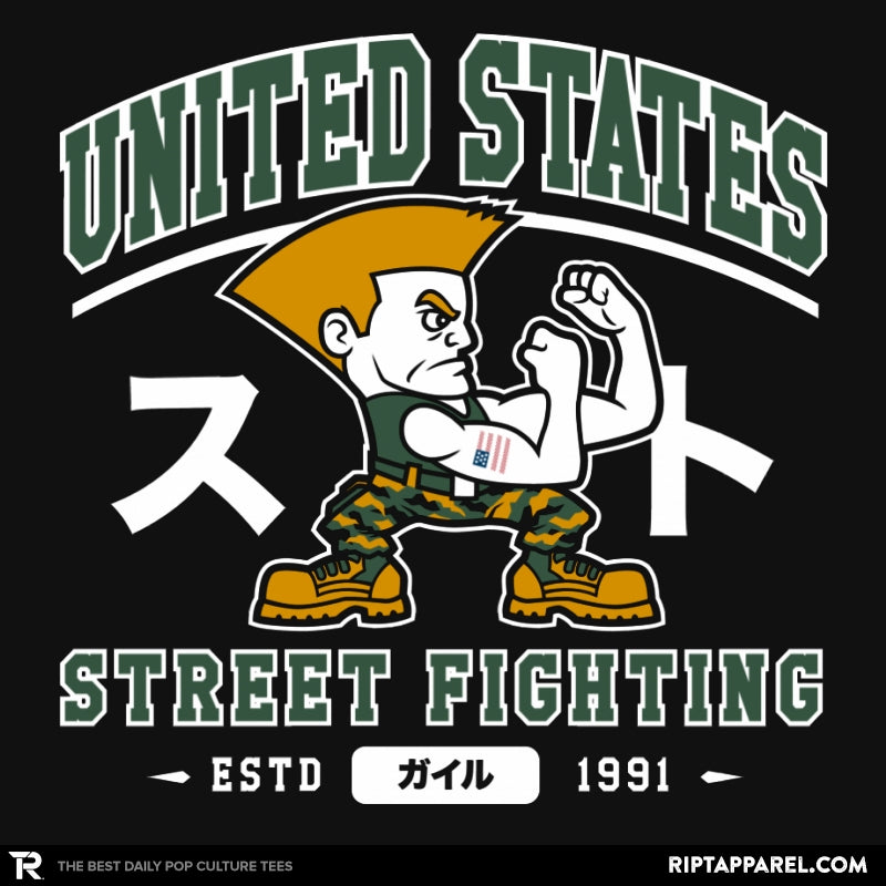 USA Street Fighting - Collection Image - RIPT Apparel