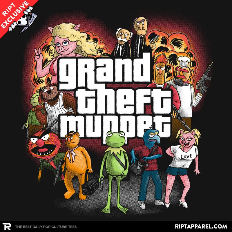 Grand Theft Muppet - Collection Image - RIPT Apparel