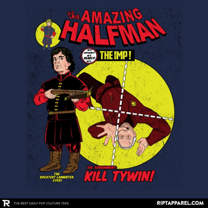 The Amazing Half-Man - Game of Shirts - RIPT Apparel