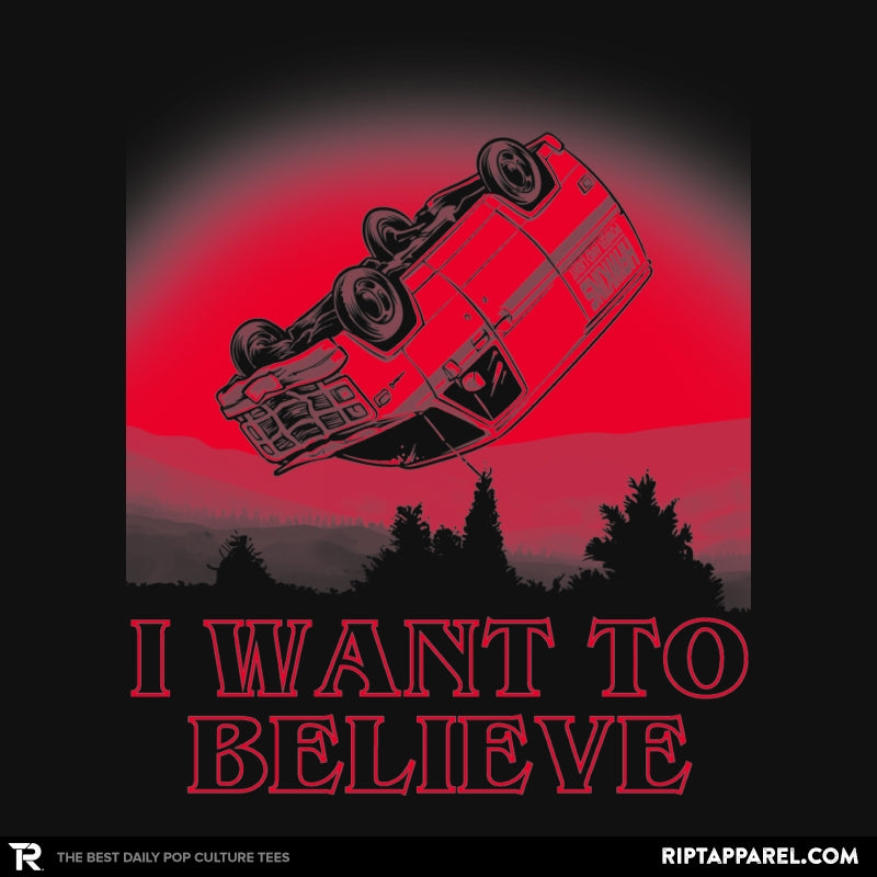 I Want To Believe Strange Things Exclusive - Collection Image - RIPT Apparel